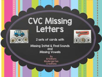 CVC Missing Letters
