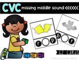 CVC Missing Middle Sound