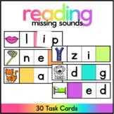 CVC Missing Sound - Kindergarten Literacy Center