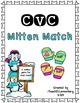 CVC Mitten Match Bundle {Short Vowel Matching Activities}