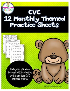 CVC Monthly Practice Sheets