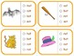 "Vocabulary: Phonics Task Cards (CVC Short ""A"")  RF.K.2d"