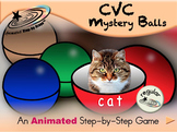 CVC Mystery Balls - Animated Step by Step Game - Regular