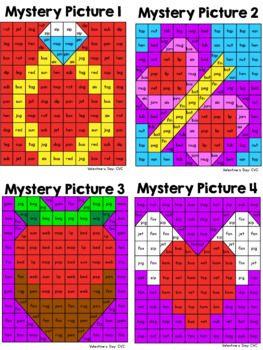 CVC Mystery Pictures: Valentine's Day