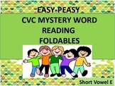 #backtoschool CVC Mystery Word Reading Foldables Short E