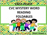 CVC Mystery Word Reading Foldables Short U