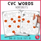 CVC  Words Packets for Distance Learning