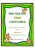 CVC 'Nat the Cat' Snap Card Game