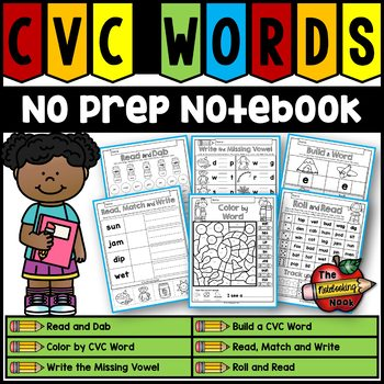 CVC No Prep Notebook