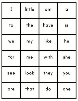 CVC, Non-Sense Words, Alphabet & Sight Words (great for dibels)
