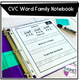 Word Family Notebook - Short Vowel Practice