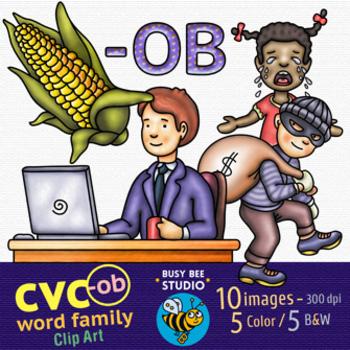 CVC -O- Clipart Bundle