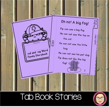 CVC O EASY TO READ TAB BOOK STORIES