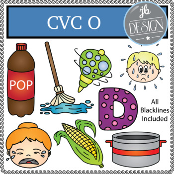 CVC O Pack (JB Design Clip Art for Personal or Commercial Use)