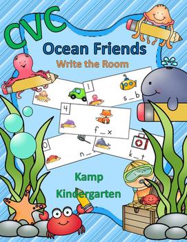 CVC Ocean Friends Write the Room