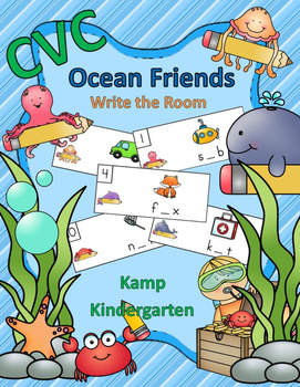CVC Ocean Friends Write the Room