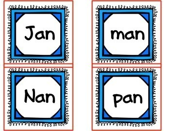 CVC Word Work One Different Game to reinforce CVC Word Rec & Short Vowel Sounds
