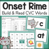 CVC Words Onset and Rime Word Building Activities