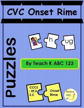 CVC Onset Rime Puzzles