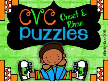 CVC Onset and Rime Puzzles