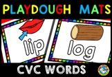 CVC PLAYDOUGH MAT (CVC WORDS AND PICTURES ACTIVITY KINDERGARTEN)