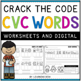 CVC Worksheets-CVC Activities (Short Vowel Worksheets)
