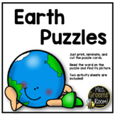 CVC PUZZLES WITH EARTHY
