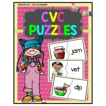 CVC PUZZLES : the GROWING BUNDLE