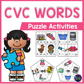 CVC Activities - CVC Puzzles