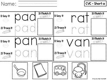 CVC Pack ~ Short a
