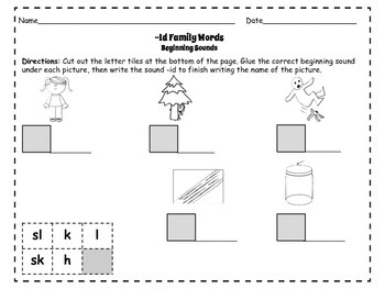 CVC Packet: Short Ii Rhyming Flashcards and Activities