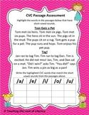 CVC Passage Assessment
