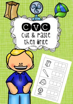 CVC Paste and Write