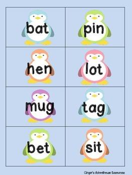 CVC Penguin Card Game
