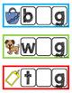 CVC Phoneme Cards {Segmenting Sounds}