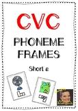 CVC Phoneme Frames - Short a words