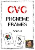 CVC Phoneme Frames - Short e words