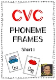 CVC Phoneme Frames - Short i words