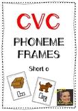 CVC Phoneme Frames - Short o words