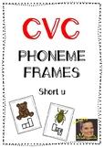 CVC Phoneme Frames - Short u words