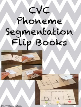 CVC Flip Books {Sound Segmenting}
