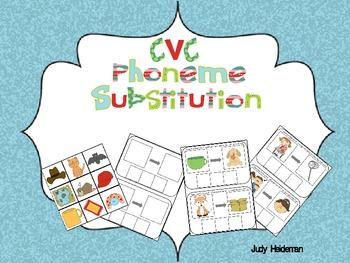 CVC Phoneme Substitution
