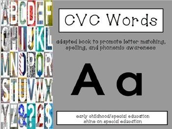 CVC Phonics-Adapted Book/File Folder