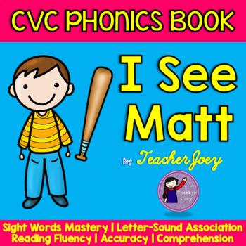 CVC Phonics Book