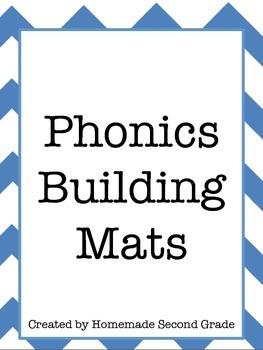CVC Phonics Building Mats