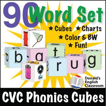 CVC Phonics Cubes