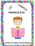CVC Phonics Free Worksheet