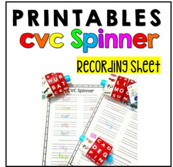 CVC Phonics Printable