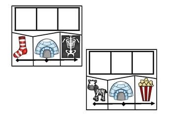 CVC Phonics Puzzle Pack {Short i edition}