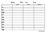CVC Phonics Spelling Package 2